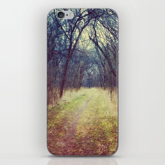 The Woods Are Lovely, Dark and Deep...  iPhone & iPod Skin