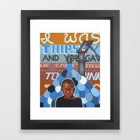 Haiti Benefit Painting 2 Framed Art Print