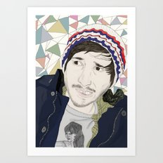 Mirror's Image Art Print