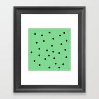 Mint Chip Framed Art Print