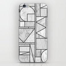 Kaku Stone iPhone & iPod Skin