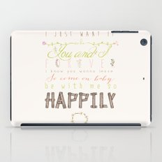 One Direction: Happily iPad Case