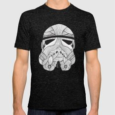 Stormtrooper: Another Drill (grey) Mens Fitted Tee Tri-Black SMALL