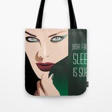 GIRL MAKE UP Tote Bag