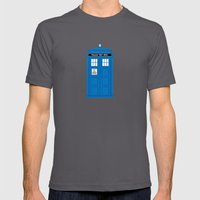 DOCTOR WHO. Mens Fitted Tee Asphalt SMALL