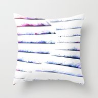 α White Crateris Throw Pillow
