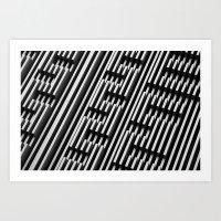 01111010 01101001 01100111 01111010 01100001 01100111 Art Print