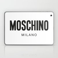 Moschino Milano Laptop & iPad Skin