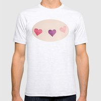 Valentine Garland Mens Fitted Tee Ash Grey SMALL