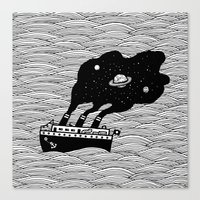 Starship Canvas Print
