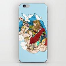 Jesus Piece iPhone & iPod Skin
