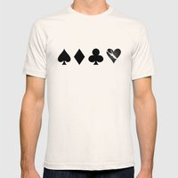 Love Is A Game Mens Fitted Tee Natural SMALL