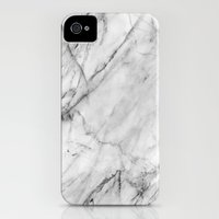 iPhone 4s & iPhone 4 Cases featuring Marble by Patterns and Textures