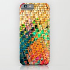 Wall Pattern Colors by Nico Bielow iPhone 6 Slim Case