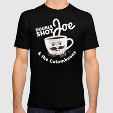 Doubleshot Joe Mens Fitted Tee Black SMALL