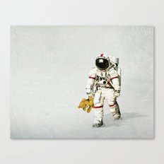 Space Can Be Lonely Canvas Print