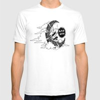 Bad Moon Mens Fitted Tee White SMALL