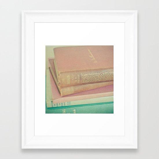 Book Lover Framed Art Print