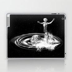 Surfing gravitational waves Laptop & iPad Skin