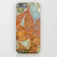Perky Maple Leaf Abstrac… iPhone 6 Slim Case