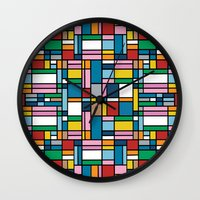 Map Outline Wall Clock