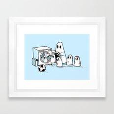 Cleanup Framed Art Print