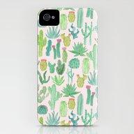 Cactus iPhone (4, 4s) Slim Case
