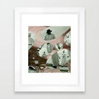 Circle Dance Framed Art Print