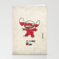 Stitch Good&bad Meter...… Stationery Cards