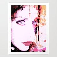 Pinki Art Print