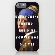 Step With A Pearl Earrin… iPhone 6 Slim Case