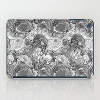 Malachite Black And Whit… iPad Case
