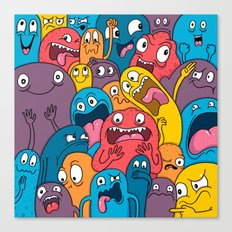 Weird Bros Canvas Print