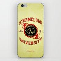 Stormcloak University(Skyrim) iPhone & iPod Skin