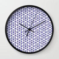 Karthuizer Blue & White Pattern Wall Clock