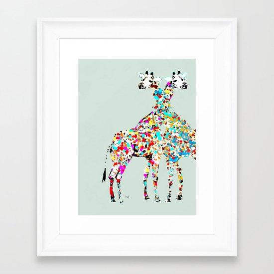 someone like you (animals Framed Art Print