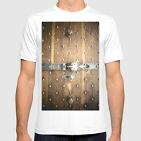 Doors In Salzburg 3 Mens Fitted Tee White SMALL
