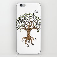 Shirley's Tree iPhone & iPod Skin