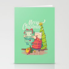 Adventure Christmas Time Stationery Cards