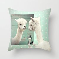 SELFIE Throw Pillow