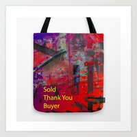 Sold Thank You Buyer Art Print
