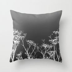 Night Sky in Reverse Throw Pillow