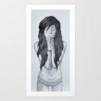 it's too late to pray... Art Print