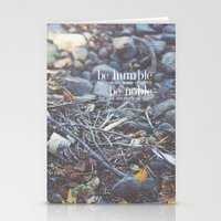 Noble + Humble. Stationery Cards