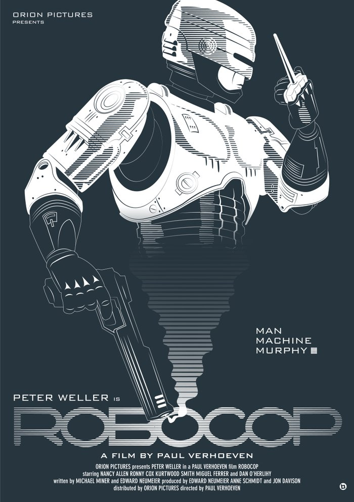 Robocop Art Print by Alain Bossuyt   Society6