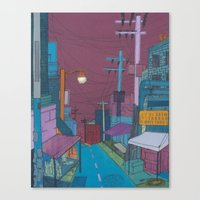Seoul City #2 Canvas Print