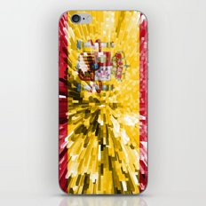Spain Flag - Extrude iPhone & iPod Skin
