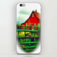 Red House iPhone & iPod Skin