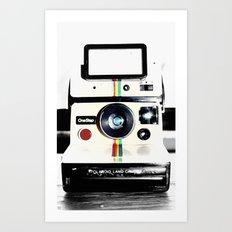 Shake it like a Polaroid picture Art Print