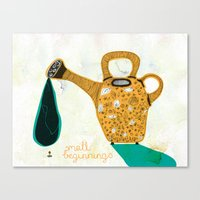 Don't Forget The Small B… Canvas Print